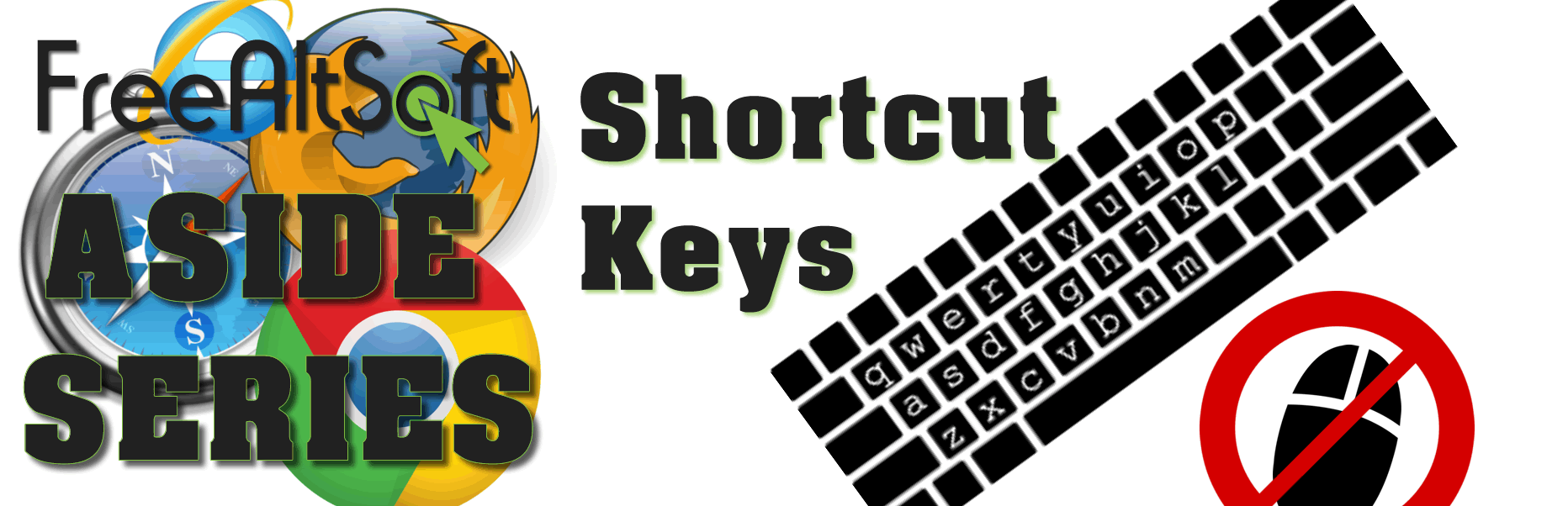 Aside: Shortcut Keys
